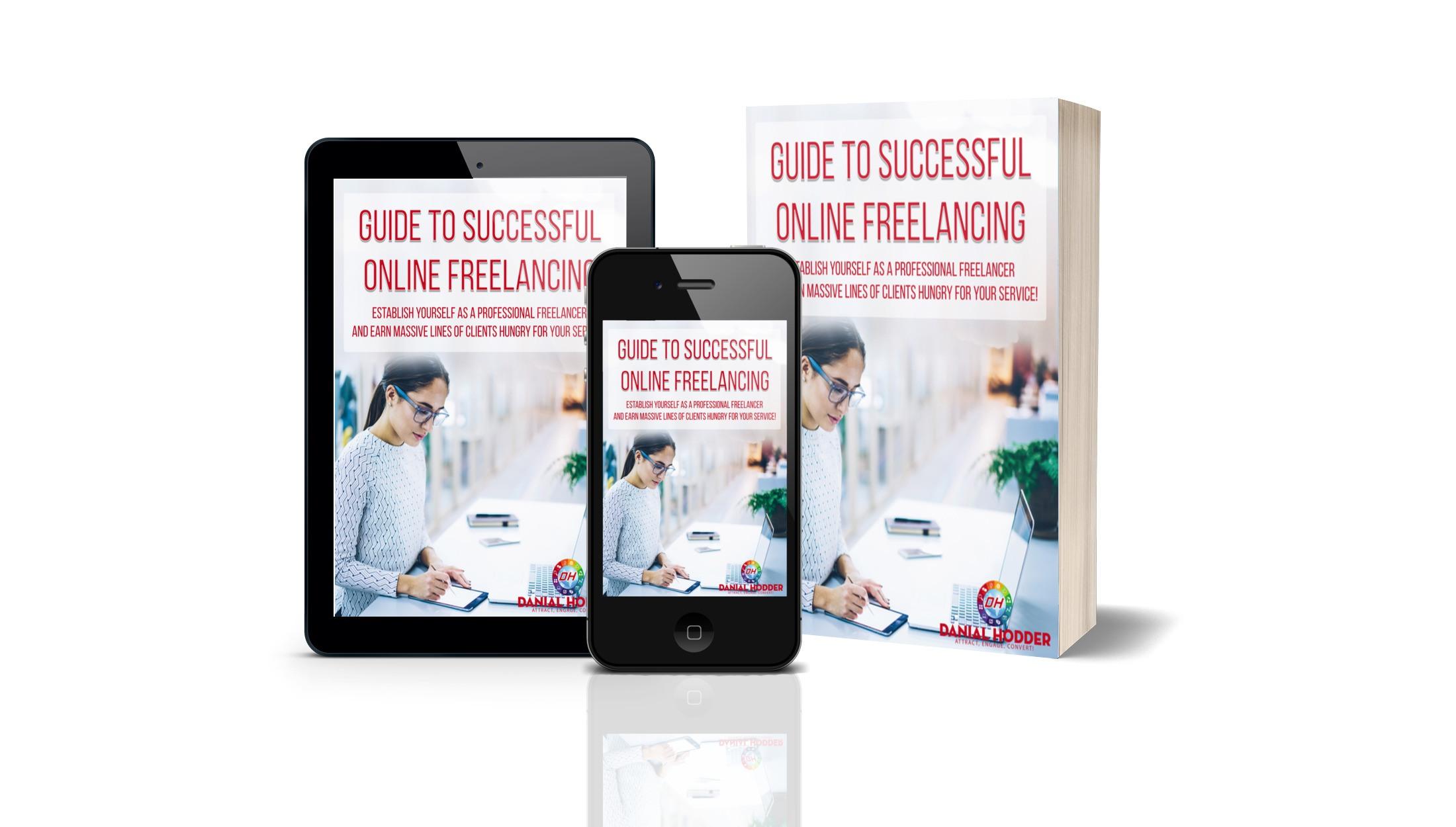 Danial Hodder successful online freelancing